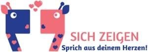 Logo: Sich Zeigen - Gewaltfreie Kommunikation